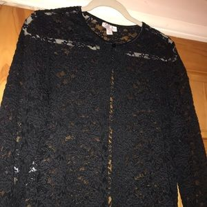 Woman's lace cardigan